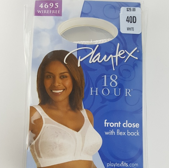 bd5f1d34e9 Playtex 18 hour front close bra